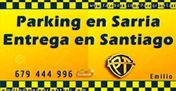 Parking en Sarria a Peregrinos con entrega en Santiago