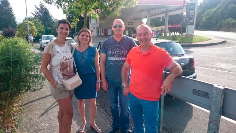 Peregrinos a Santiago desde Sarria:  PARKING